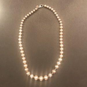 Tiffany & Co. Jewelry - Tiffany Graduated Ball Necklace